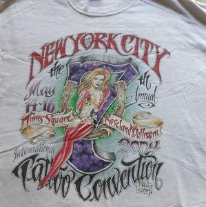 Vintage ny city tattoo convention